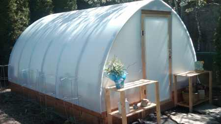 Build your own greenhouse quonset style greenhouse solutioingenieria Image collections