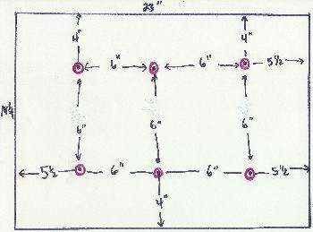 raft cutting diagram