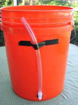level indicator for bucket bubbler