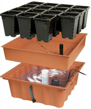 ebb and flow bucket system how to build