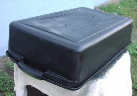 black paint prevents algae growth