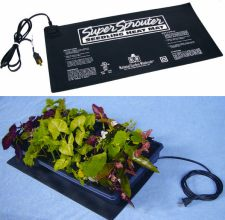 heated seedling mats
