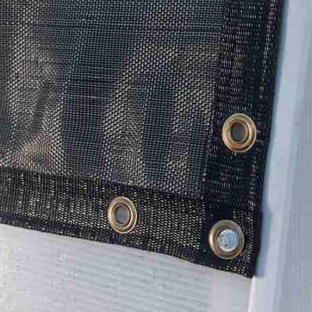 shade cloth corners