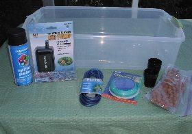 build a lettuce raft for under $50