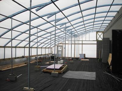 Solar Greenhouse 30 x 96