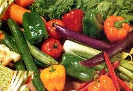 colorful delicious veggies